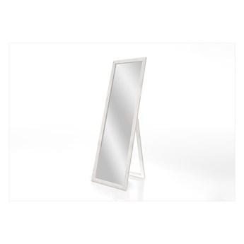 Lustro stojące z białą ramą Styler Sicilia, 46x146 cm