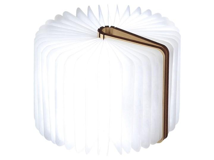 Jasnobrązowa lampka stołowa LED z drewna klonowego w kształcie księgi Gingko Booklight Lampa LED Kategoria Lampy stołowe Kolor Beżowy