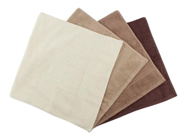 Zestaw 4 brązowych bawełnianych ręczników Rainbow Home, 50x90 cm Frotte Bawełna Ręcznik kąpielowy Komplet ręczników Łazienkowe Kategoria Ręczniki