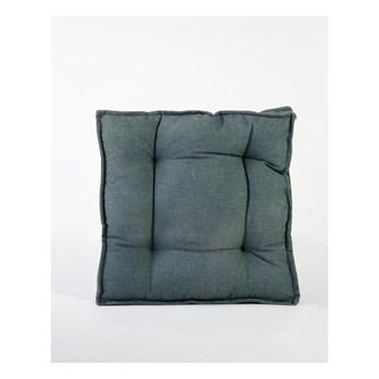 Zielona poduszka z domieszką lnu Surdic Square, 37x37 cm