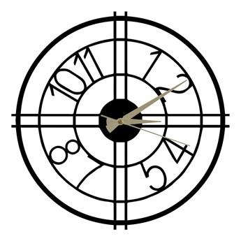 Metalowy zegar Hefaistos, ø 50 cm