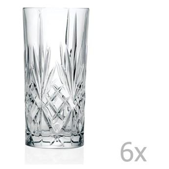 Zestaw 6 szklanek RCR Cristalleria Italiana Sofia