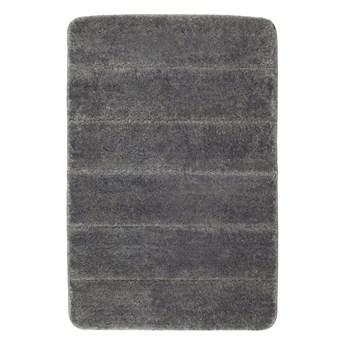 Ciemnoszary dywanik łazienkowy Wenko Steps, 60x90 cm