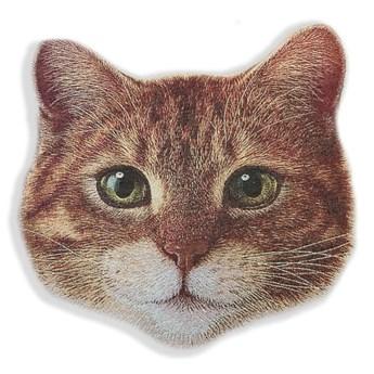 Poduszka dekoracyjna z mikrowłókna Really Nice Things Cat Face