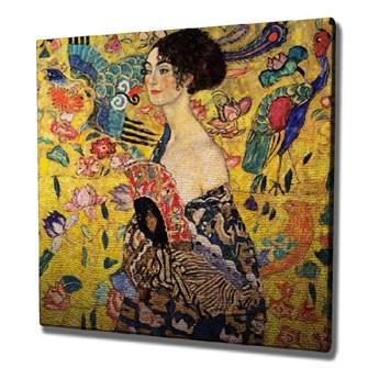 Reprodukcja obrazu na płótnie Gustav Klimt , 45x45 cm