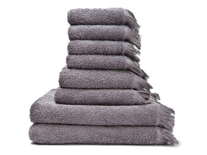 Zestaw 8 szaro-brązowych ręczników ze 100% bawełny Bonami 50x90 cm 70x140 cm 30x50 cm Ręcznik kąpielowy Frotte Komplet ręczników Kategoria Ręczniki Łazienkowe Bawełna Kolor Szary