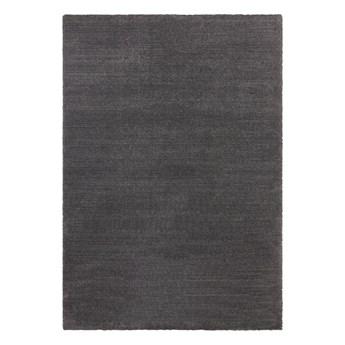 Antracytowy dywan Elle Decoration Glow Loos, 160x230 cm