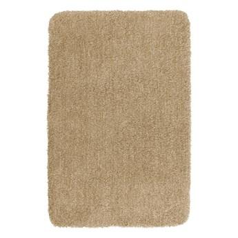 Beżowy dywanik łazienkowy Wenko Mélange, 65x55 cm