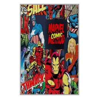Dziecięcy dywan antypoślizgowy Homefesto Superheros, 180x280 cm