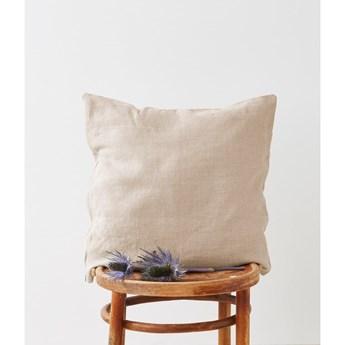 Lniana poszewka na poduszkę Linen Tales, 45x45 cm