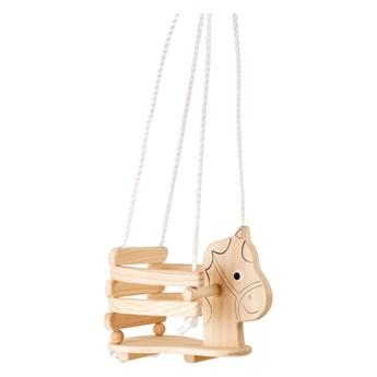 Drewniana huśtawka w kształcie konika Legler Horse