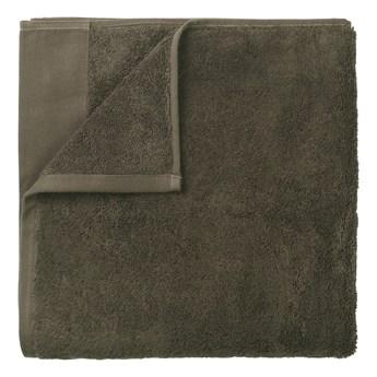 Zielony bawełniany ręcznik kąpielowy Blomus, 70x140cm