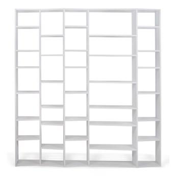 Biały regał TemaHome Valsa, szer. 216 cm
