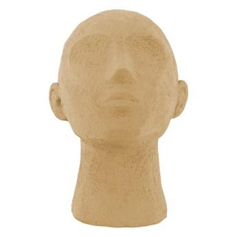 Piaskowa figurka dekoracyjna PT LIVING Face Art, wys. 22,8 cm