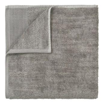 Szary bawełniany ręcznik kąpielowy Blomus, 140x70cm