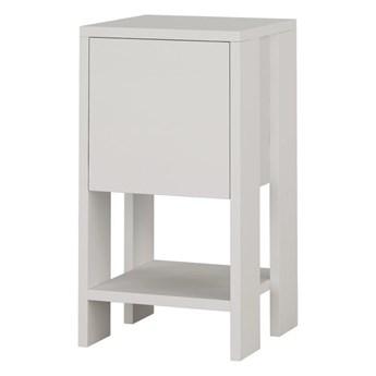 Biała szafka nocna Garetto Ema