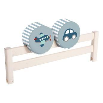 Dwustronna poduszka na barierkę łóżka Flexa Transport, ø 30 cm