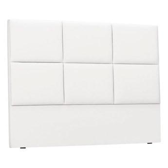Biały tapicerowany zagłówek łóżka THE CLASSIC LIVING Aude, 160x120cm