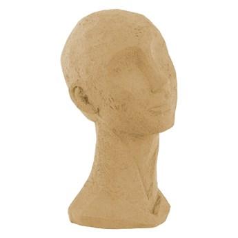Piaskowa figurka dekoracyjna PT LIVING Face Art, wys. 28,4 cm