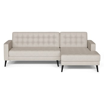 Kremowa sofa Prêt à Meubler Classics Boston, prawostronna