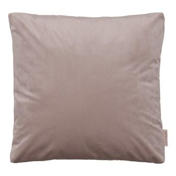 Ciemnoróżowa poszewka na poduszkę z efektem aksamitu Blomus, 45x45cm