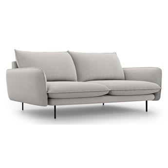 Jasnoszara sofa Cosmopolitan Design Vienna, 200 cm