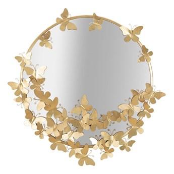 Lustro ścienne Mauro Ferretti Butterfly, ø 75 cm