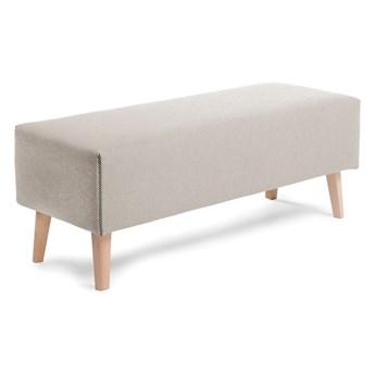 Beżowa ławka La Forma Lydia