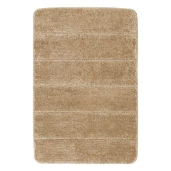 Beżowy dywanik łazienkowy Wenko Steps, 60x90 cm