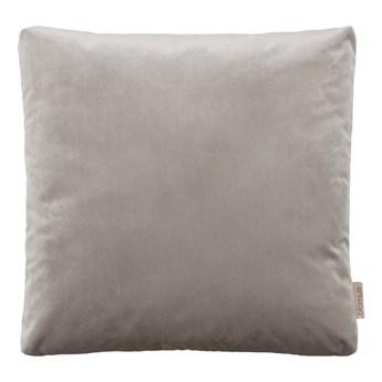 Szarobrązowa poszewka na poduszkę z efektem aksamitu Blomus, 45x45cm
