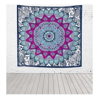 Tkanina dekoracyjna Really Nice Things Blue Dreamcatcher, 140x140 cm