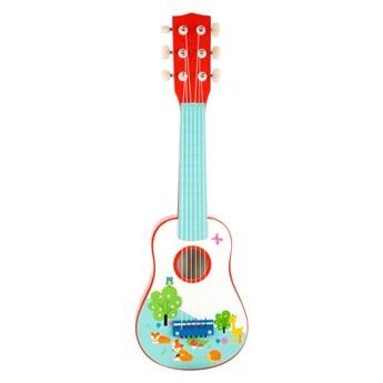 Dziecięca drewniana gitara Legler Little Fox