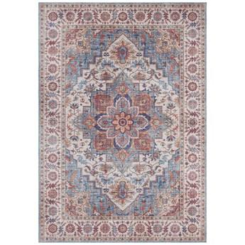 Czerwono-niebieski dywan Nouristan Anthea, 200x290 cm