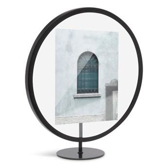 Czarna stojąca ramka na zdjęcie o wymiarach 12x18 cm Umbra Infinity
