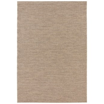 Brązowy dywan odpowiedni na zewnątrz Elle Decoration Brave Caen, 80x150 cm