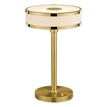 Lampa stołowa LED w kolorze złota Trio Agento, wys. 32 cm