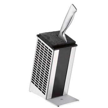 Blok do noży ze stali nierdzewnej Cromargan® WMF, wys. 22 cm