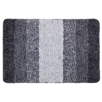 Szary dywanik łazienkowy Wenko Luso, 60x90 cm