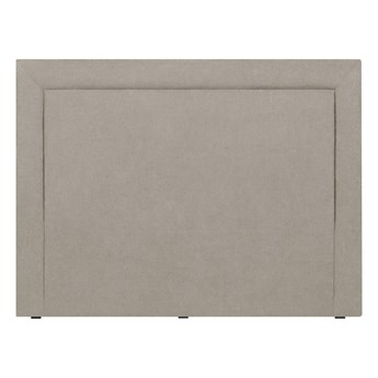 Kremowy zagłówek łóżka Mazzini Sofas Ancona, 200x120 cm
