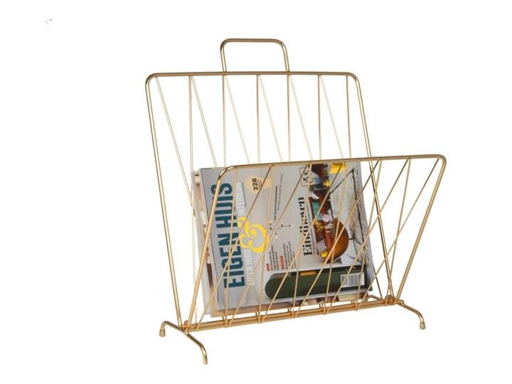 Gazetnik w kolorze złota Present Time Diamond Metal Kolor Złoty Kategoria Gazetniki