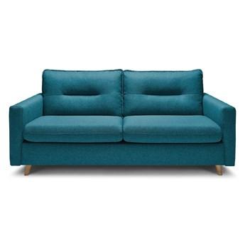 Turkusowa sofa rozkładana Bobochic Paris Sinki