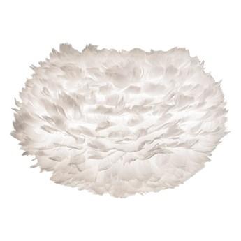 Biały abażur z gęsich piór UMAGE EOS, Ø 45 cm