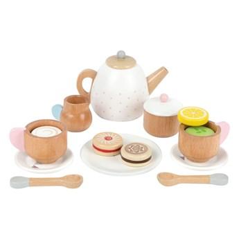 Dziecięcy drewniany zestaw do herbaty Legler Tea