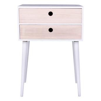 Biała szafka drewniana House Nordic Rimini