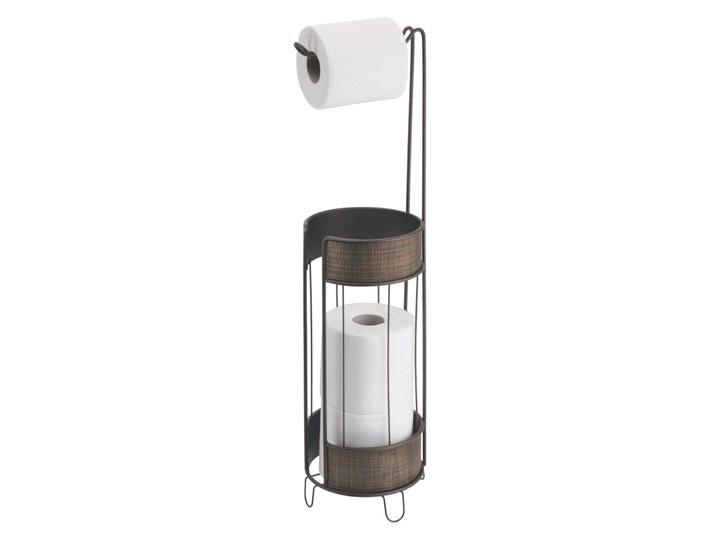 Brązowy stojak na papier toaletowy InterDesign Twillo