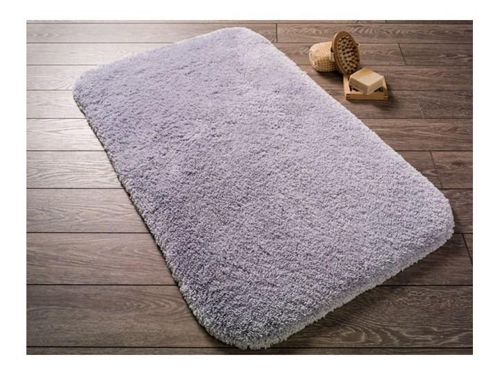 Jasnofioletowy dywanik łazienkowy ze 100% bawełny Confetti Bathmats Miami, 57x100 cm