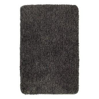 Ciemnoszary dywanik łazienkowy Wenko Mélange, 90x60 cm
