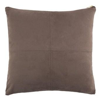 Szara poduszka White Label Mace, 45x45 cm
