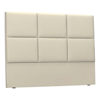 Beżowy tapicerowany zagłówek łóżka THE CLASSIC LIVING Aude, 180x120cm