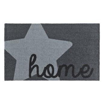 Szara wycieraczka Zala Living Design Star Home Grey, 50x70cm